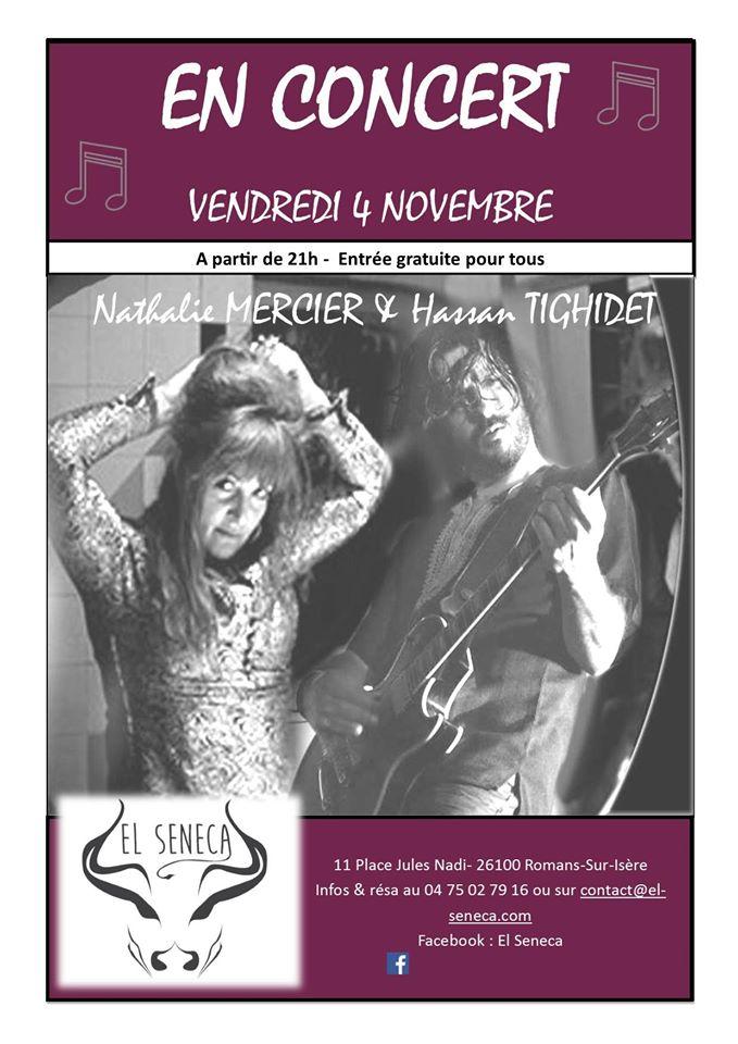 Concert Nat Mercier et Hassan Thighidet